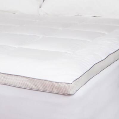 Allied Home Plush Deep Pocket Cotton Twin Mattress Pad