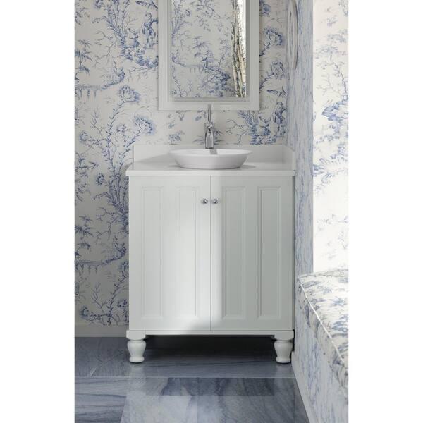Kohler 2x34 5x 5 In Filler Strip For Tailored Vanities In Linen White K 99676 1wa The Home Depot