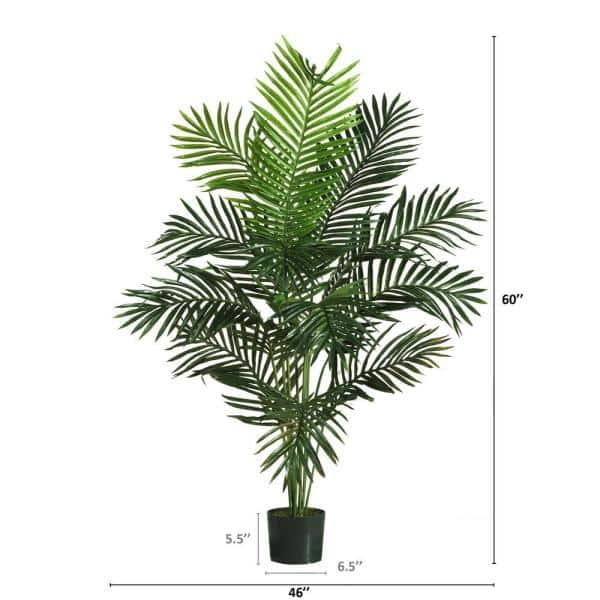 7' Cycas Palm Artificial Fake Tree