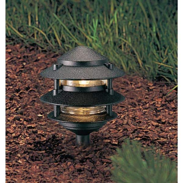 Progress Lighting Black Landscape Pathlight P5204 31 The Home Depot