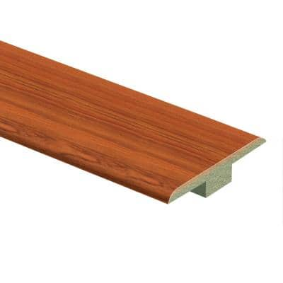 Paradise Jatoba 7/16 in. Thick x 1-3/4 in. Wide x 72 in. Length Laminate T-Molding