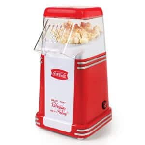 Coca-Cola 2 oz. Red Mini Countertop Popcorn Machine