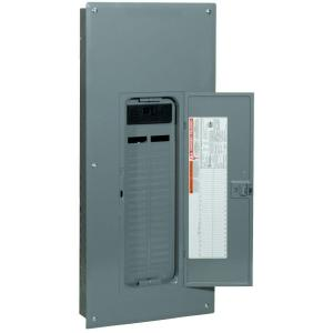 QO 200 Amp 42-Space 52-Circuit Indoor Main Breaker Plug-On Neutral Load Center with Cover