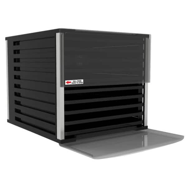 LEM - Mighty Bite 10-Tray Black Food Dehydrator with Temperature Control