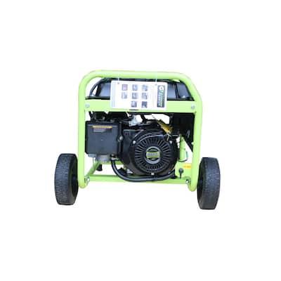 5250 Peak/4250-Running Watts Recoil Start Gasoline/Propane Portable Generator with CO Detector