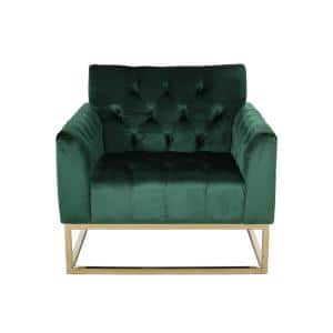 Claremont Emerald Tufted Club Chair