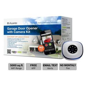 Garage Door Opener with Camera Kit (Live Streaming)