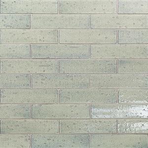 Rhythmic Thunder 2 in. x 9 in. 12mm Glazed Clay Subway Tile (30-piece 4.63 sq. ft. / box)
