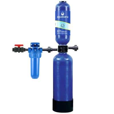 600,000 Gal. Whole House Salt-Free Water Conditioner with Pre-Filter and Install Kit