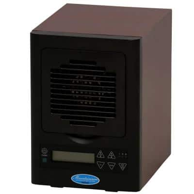 Six Stage HEPA Filter Portable Electronic Air Purifier with 20KV Ionizer and 2-Plate Ozone Genre