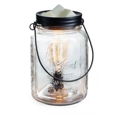 Glass Mason Jar Edison Bulb Illumination