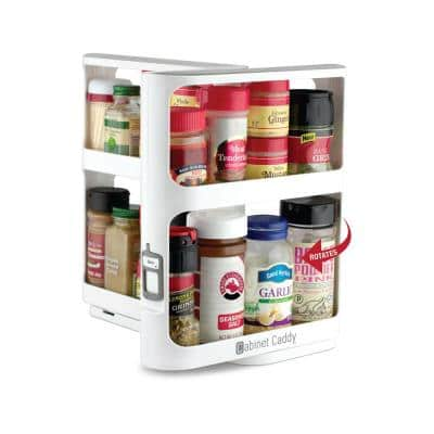 Cabinet Caddy, White