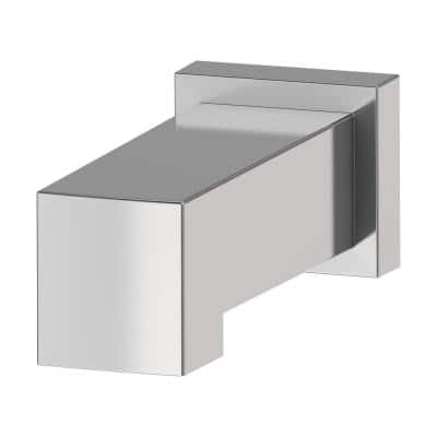 Duro Slip-On Non-Diverter Tub Spout in Polished Chrome