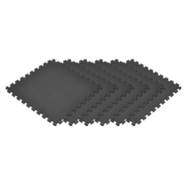 6-pk EVA Foam 144 Sq Ft Floor Mat Interlocking Exercise Gym Flooring Floor Mat