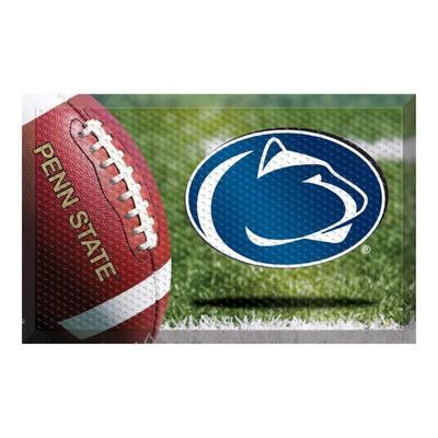 Penn State Football Heavy Duty Rubber Outdoor Scraprer Door Mat