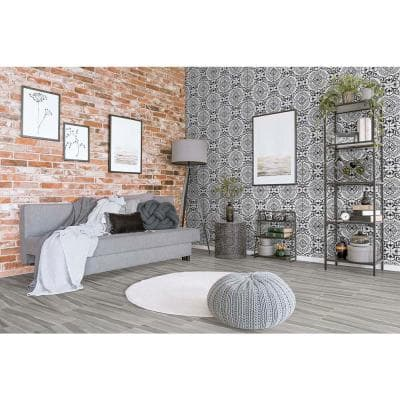 Cigno 8 in. x 8 in. Matte Porcelain Floor and Wall Tile (5.33 sq. ft. / Case)