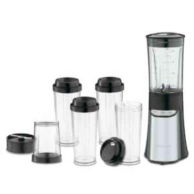 SmartPower 32 oz. 3-Speed Stainless Steel Compact Blender with Plastic Jar