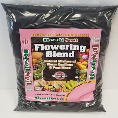 8 Qt. 100% Organic Worm Castings Flowering Blend