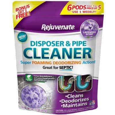Lavender Scent Disposer and Pipe Cleaner (6-Pack)