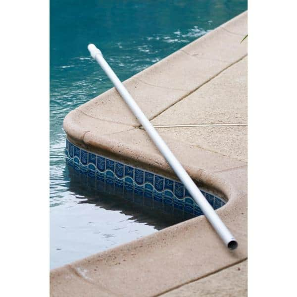 Hdx 16 Ft X 1 1 4 In Dia Anodized Aluminum Telescopic Swimming Pool Pole With External Cam Set 61316 The Home Depot