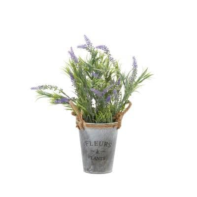 Grey Contemporary Polyethylene Artificial foliage