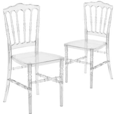 Crystal Ice Ghost Chairs (Set of 2)