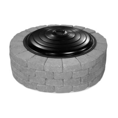 31 in. Round Fire Pit Ring Lid