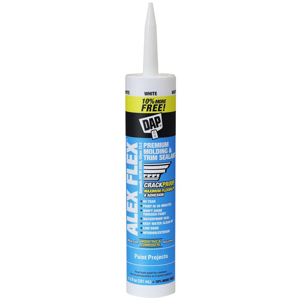 Alex Flex 11.2 oz. White Premium Mold and Trimming Sealant