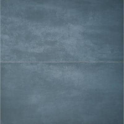 Forge Indigo 48 in. x 24 in. Matte Porcelain Floor and Wall Tile (2 Pieces, 15.49 Sq. Ft. /Case)