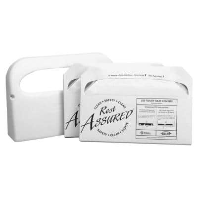 Toilet Seat Cover Starter Set (500-Sheets)