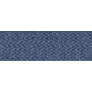 Aqua Shield Diamonds Navy 3 ft. x 8 ft. PET Polyester Runner