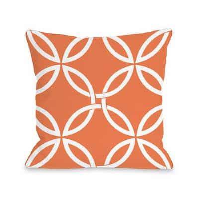 Tangerine Throw Pillows Home Decor The Home Depot