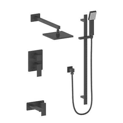 ZLINE Bliss Shower System in Matte Black (BLS-SHS-MB)