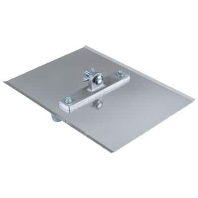 12 in. x 9 in. 1/4 R, 1 D Steel Power Groover Without Handle