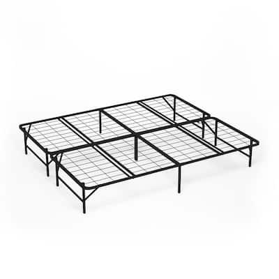 Angeland Mattress Foundation Platform California King Metal Bed Frame