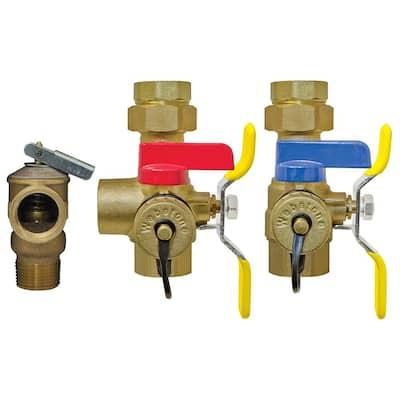 Isolator EXP 1 in. IPS Union x IPS Tankless Water Heater Service Valve Kit