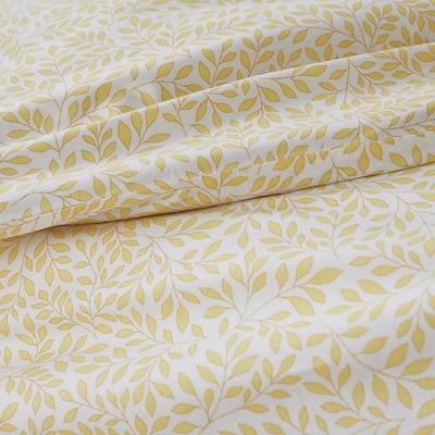 Company Cotton™ Mini Leaf Botanical Percale Duvet Cover