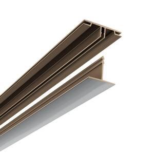 100 sq. ft. Ceiling Grid Kit in Brushed Aluminum