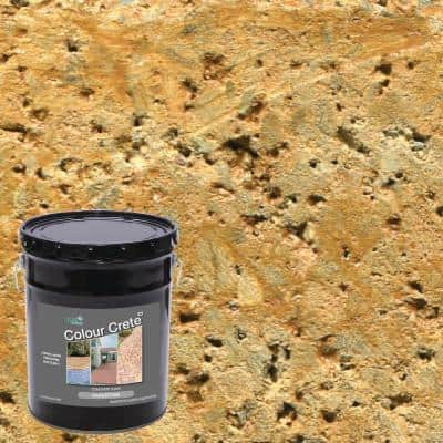 5 Gal. Sandstone Semi-Transparent Water-Based Exterior Concrete Stain