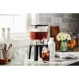 4.75 Cup Silver Cold Brew Coffee Maker