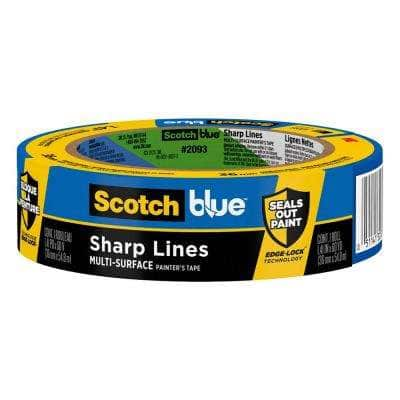 ScotchBlue 1.41 in. x 60 yds. Sharp Lines Multi-Surface Painter's Tape with Edge-Lock (24-Pack)