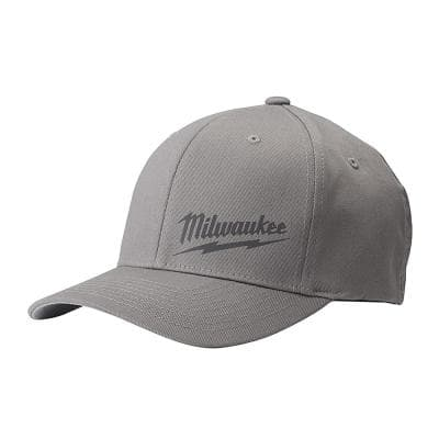 Small/Medium Gray Fitted Hat