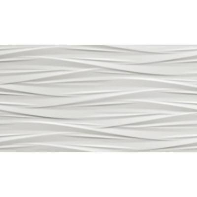 Nuvola White 3D 12 in. x 22 in. Ceramic Wall Tile (12.83 sq. ft./Case)