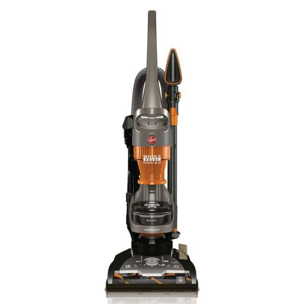 HOOVER WindTunnel 2 Whole House Cord Rewind Bagless Pet Upright Vacuum Cleaner Machine with HEPA media filtration