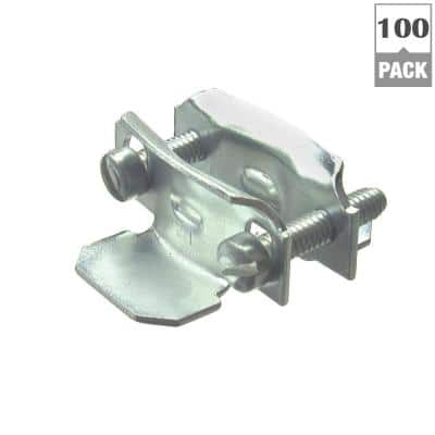 3/8 in. Non-Metallic (NM) 2-Piece #14 to #10 Cable Clamp Connectors (100-Pack)
