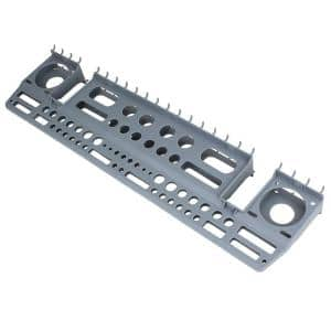 Gray Wall-Mount or Peggable Multi-Purpose Tool Storage Holder