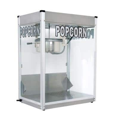 Professional 16 oz. Stainless Steel Countertop Popcorn Machine