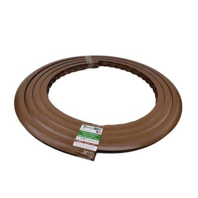 Trim-A-Slab 1-3/8 in. wide x 34 in Dia Roll x 25 ft. Concrete Expansion Joint Replacement in Walnut