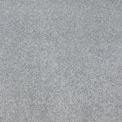 Silver Mane II - Color Batik Texture Blue Carpet