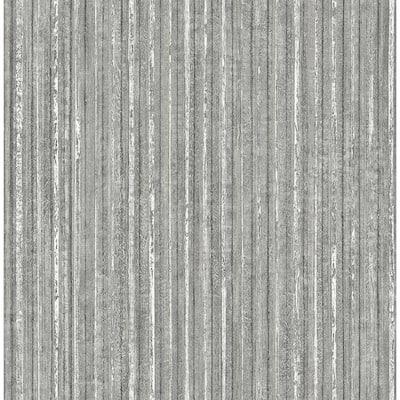 Maison Silver Maison Texture Silver Wallpaper Sample